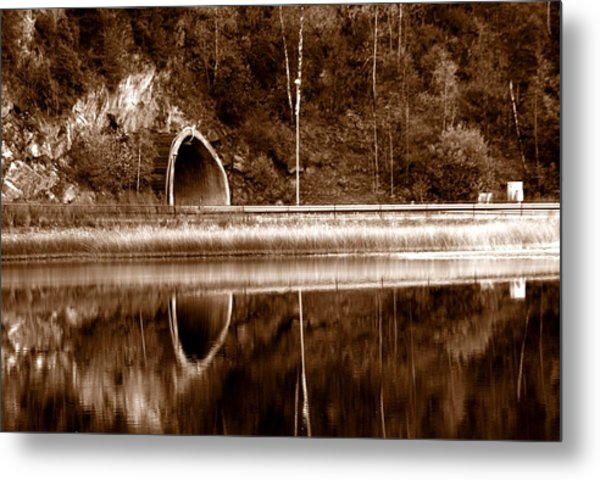 The Light In The End Of The Tunnel Metal Print