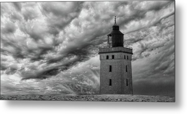 The Lighthouse Mood. Metal Print by Leif L?ndal