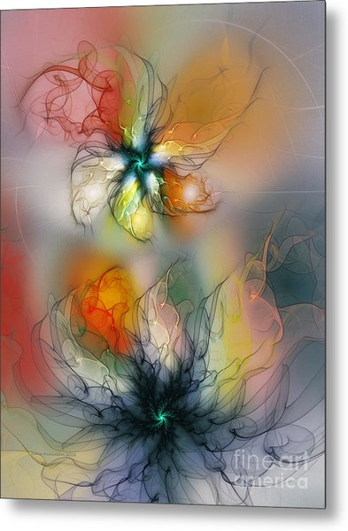 The Lightness Of Being-abstract Art Metal Print