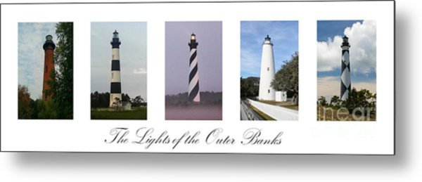 The Lights Of The Outer Banks Metal Print