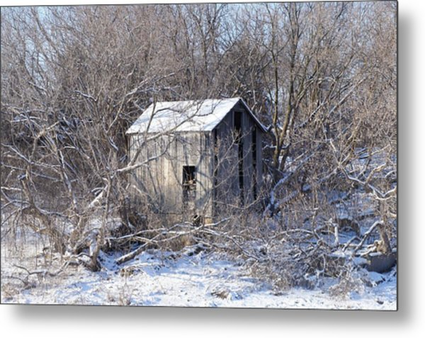 The Little Barn Metal Print