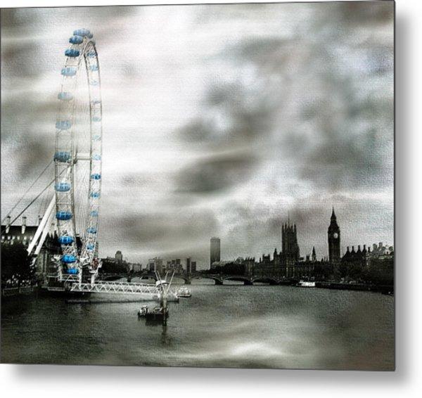 The London Eye Metal Print