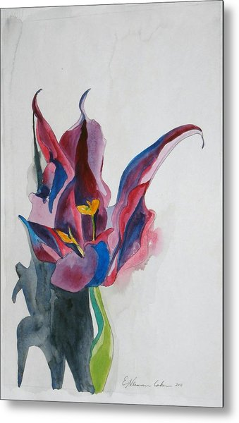 The Lonely Tulip Metal Print
