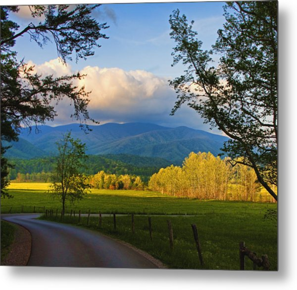 The Long And Winding Road Metal Print by Dave Bosse