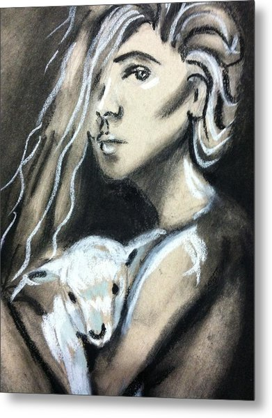 The Lost Girl Metal Print