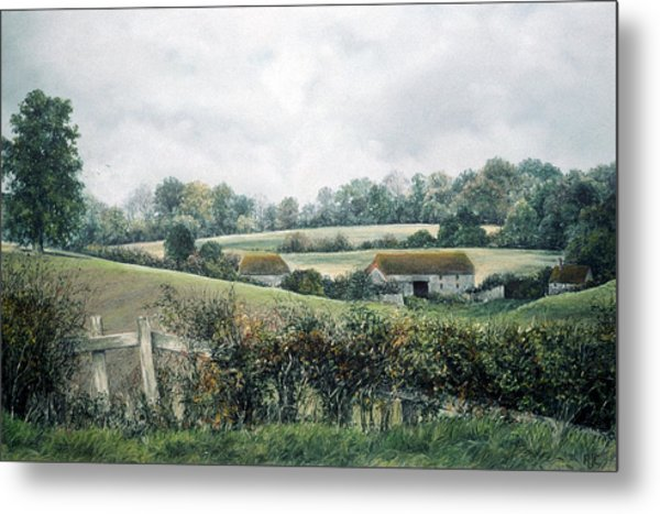 The Lost Hedgerow Metal Print