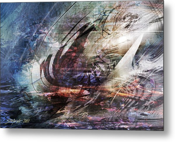 The Lost Ship IIi Metal Print