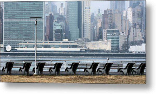 The Lounge Metal Print by JC Findley