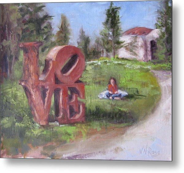 The Love Trail 2 Metal Print