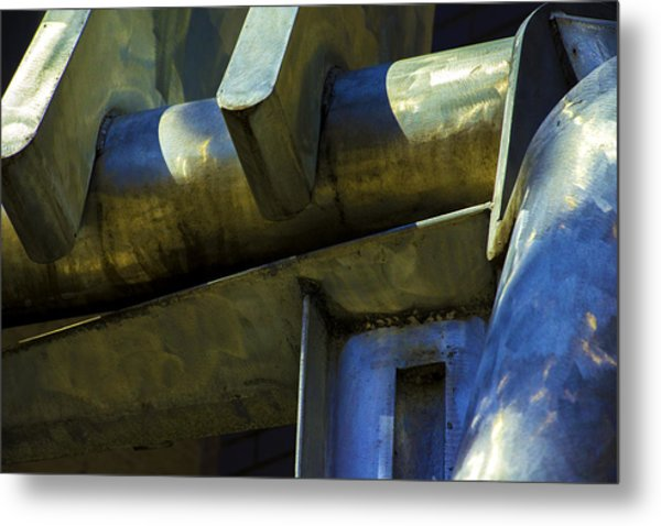 The Machine Metal Print