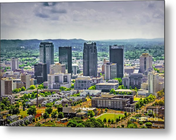 The Magic City Metal Print