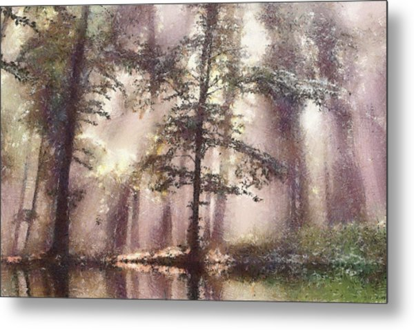 The Magic Forest Metal Print by Odon Czintos