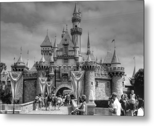 The Magic Kingdom Metal Print