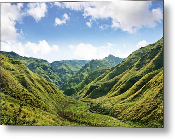 The Majestic Side Of Nature Metal Print by Yuri arcurs