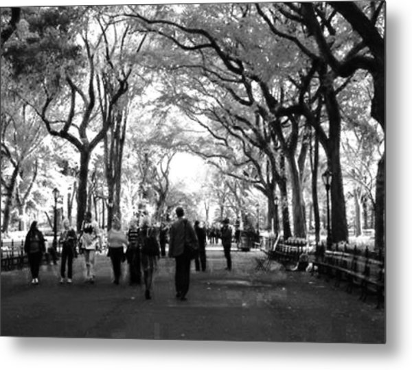 The Mall Metal Print