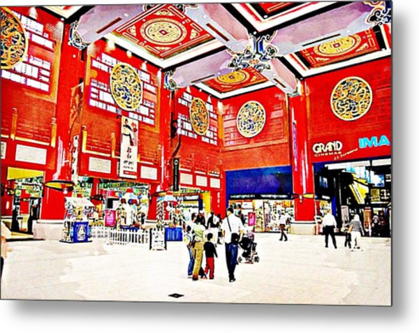 The Mall Metal Print by Peter Waters