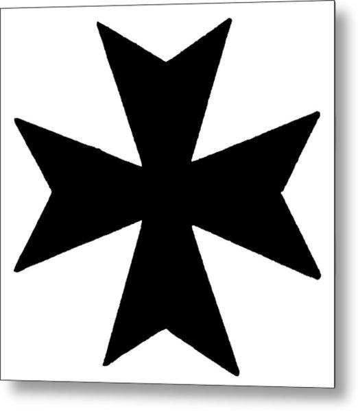 The Maltese Cross Metal Print by Granger