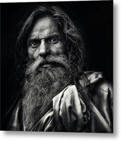 The Man From Agra Metal Print