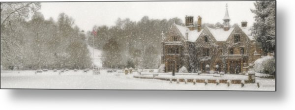 The Manor House Metal Print
