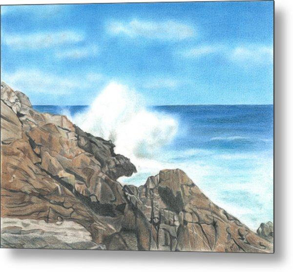 The Marginal Way Metal Print