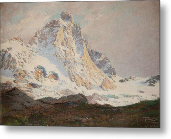 The Matterhorn, 1910 Metal Print