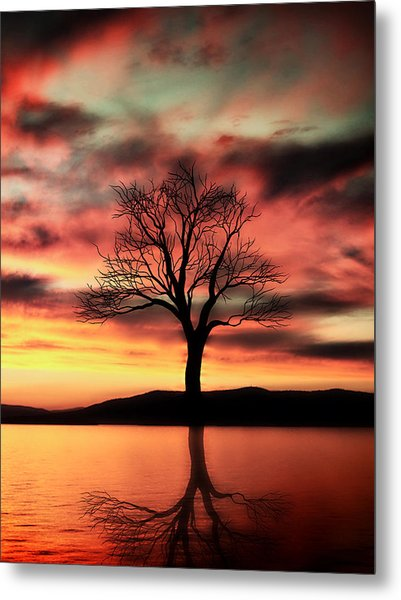 The Memory Tree Metal Print