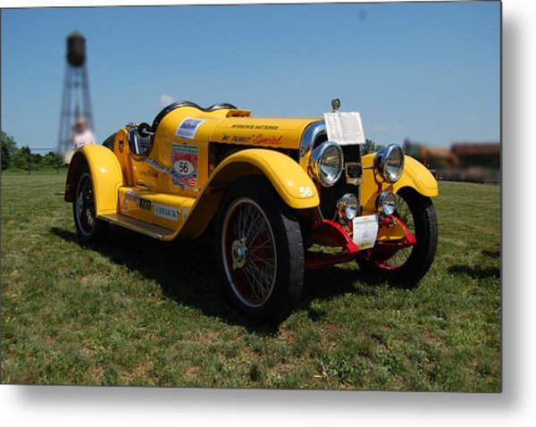 The Mercer Raceabout Roadster Metal Print