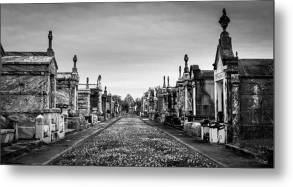 The Metairie Cemetery Metal Print