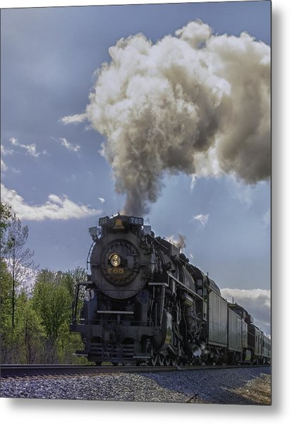 The Mighty 765 Steam Engine Metal Print