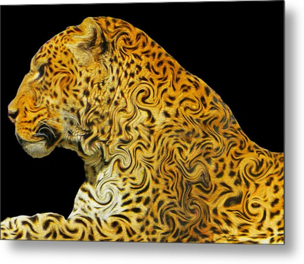 The Mighty Panthera Pardus Metal Print