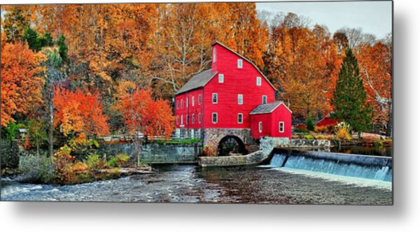 The Mill In Clinton Metal Print