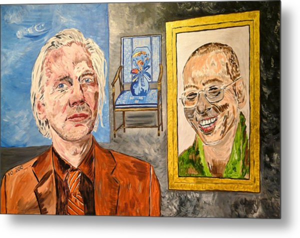 The Mirrored Truth Metal Print