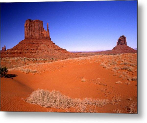 The Mittens Monument Valley Arizona Metal Print