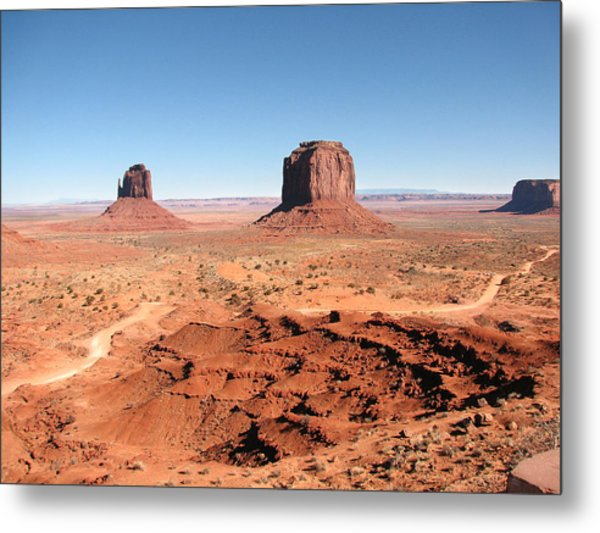 The Mittens Utah Metal Print