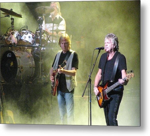 The Moody Blues In Concert Metal Print