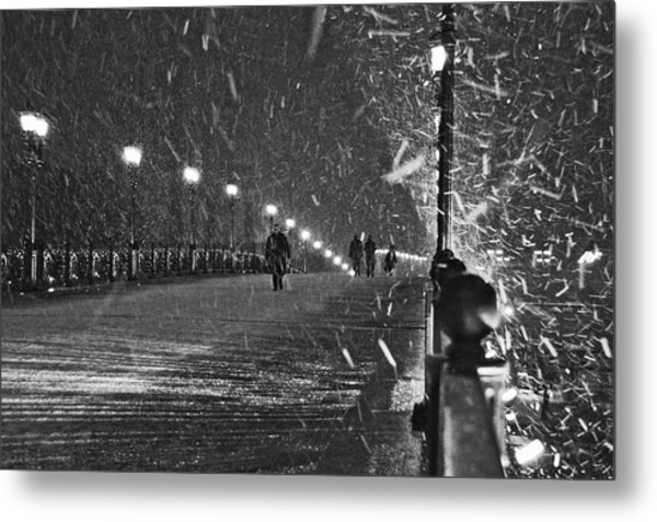 The Moscow Blizzard Metal Print