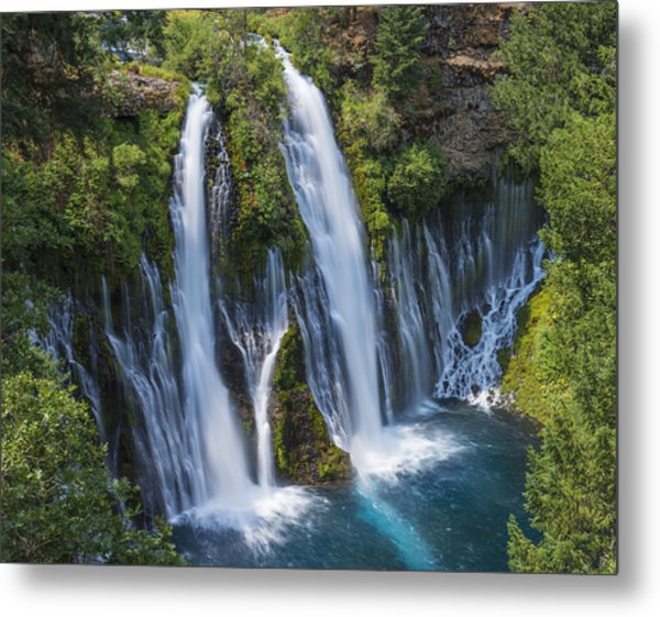 The Most Beautiful Waterfall Metal Print