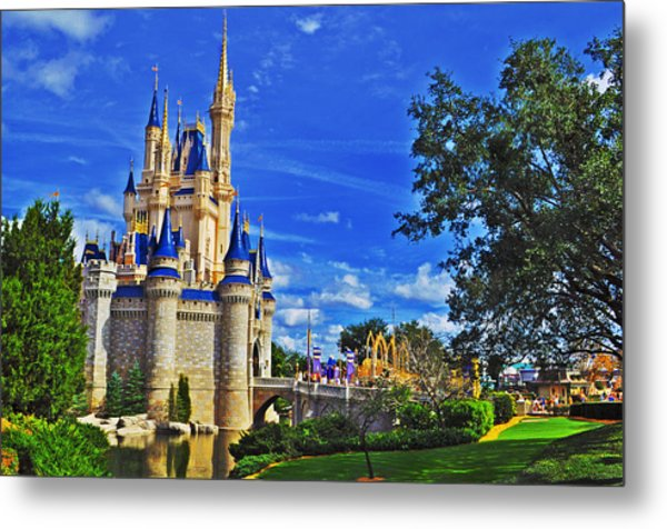 The Most Magical Of Kingdoms Metal Print by Rachael M