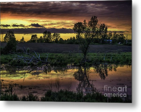 The Most Perfect Sunset Metal Print