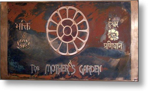 The Mother's Garden Metal Print