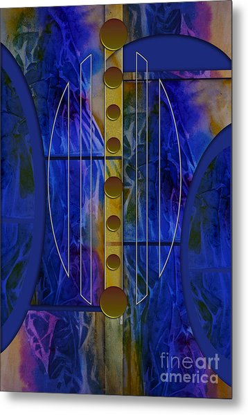 The Musical Abstraction Metal Print