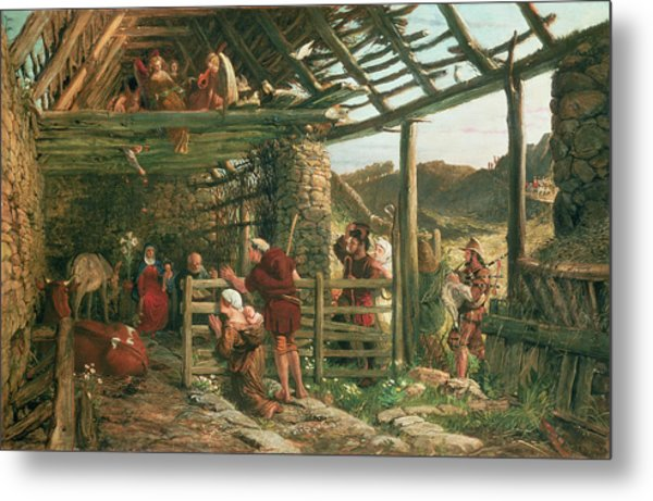 The Nativity, 1872 Metal Print