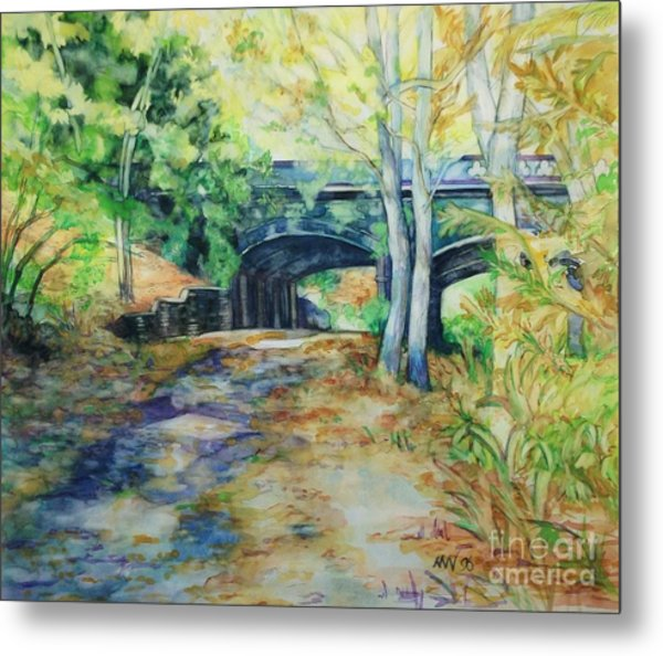 The Nethermead Arches Metal Print