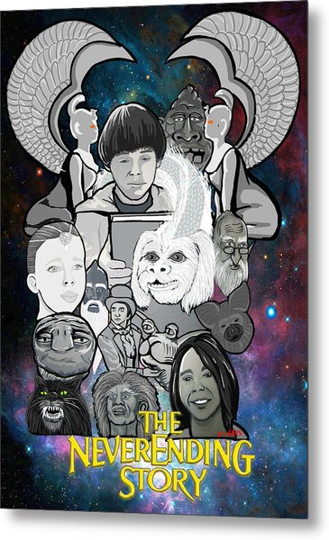 The Neverending Story Metal Print by Gary Niles
