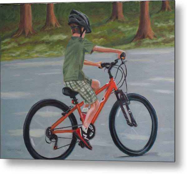 The New Bike Metal Print