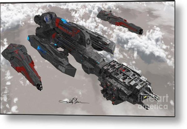 The New Imperial Fleet Metal Print