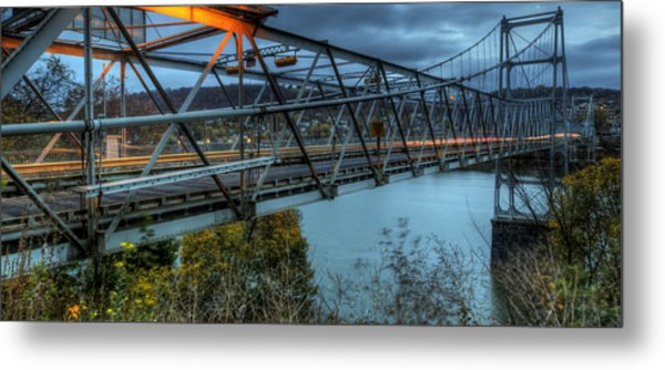 The Newell Bridge Metal Print