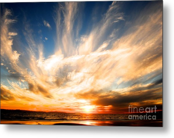 The Night The Sunset Danced Metal Print