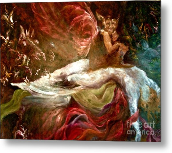 The Nightmare Metal Print by Michelle Dommer
