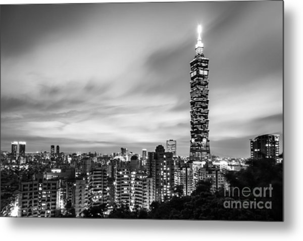 The Nights Of Taipei Metal Print